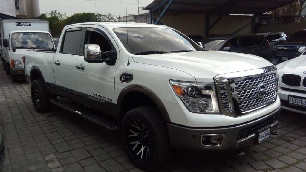 NISSAN TITAN XD MODELO 2017 4X4 - Venta de carros en guatemala