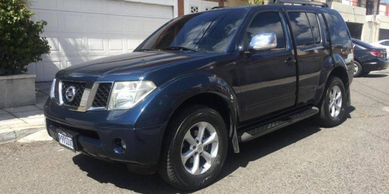 Nissan Pathfinder 2010 De Agencia - venta de carros en guatemala