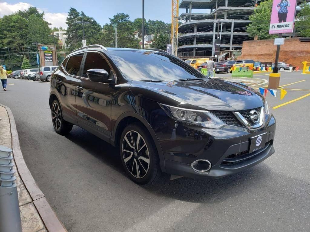 Nissan Qashqai Cvt 4x4 2016 Full Equipo - Venta De Carros En Guatemala