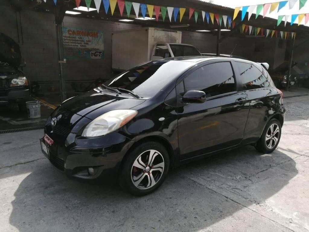 Toyota-yaris-2011-Mecanico-Nitido-venta-de-carros-en-guatemala