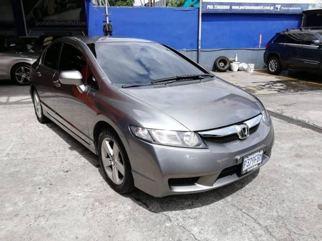 HONDA CIVIC LXS, MODELO 2009 MECANICO - carros en venta en guatemala