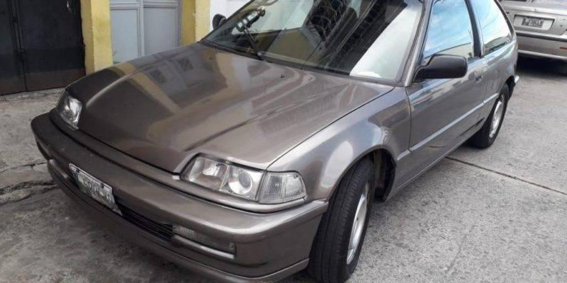 HONDA CIVIC ZAPATILLO 88 - venta de carros en guatemala