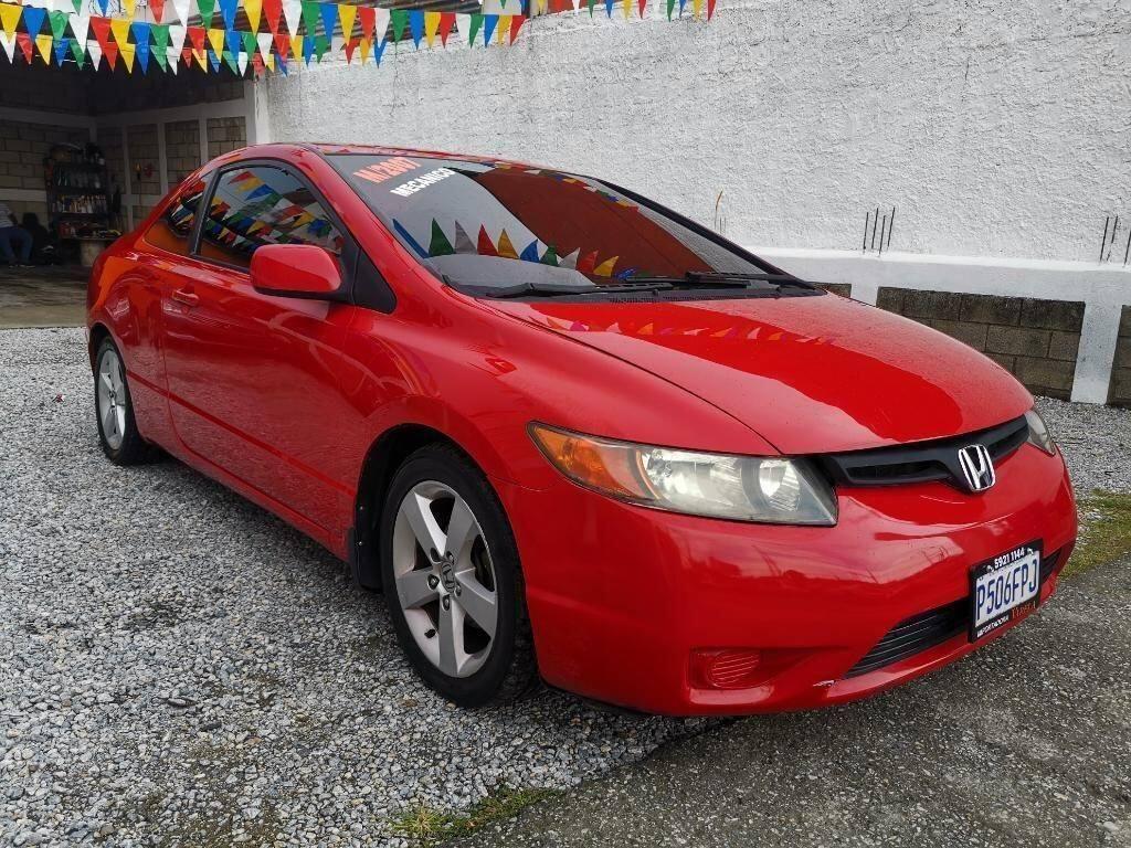 Honda Civic Ex 2007 Mecanico - venta de carros en guatemala