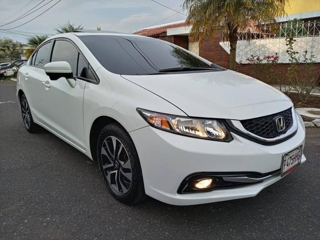 Honda Civic Ex 2015 - venta de carros