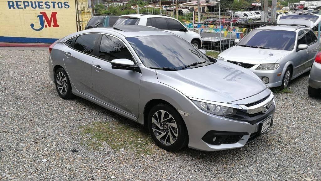 Honda Civic Ex 2016 Automático - venta de carros en guatemala