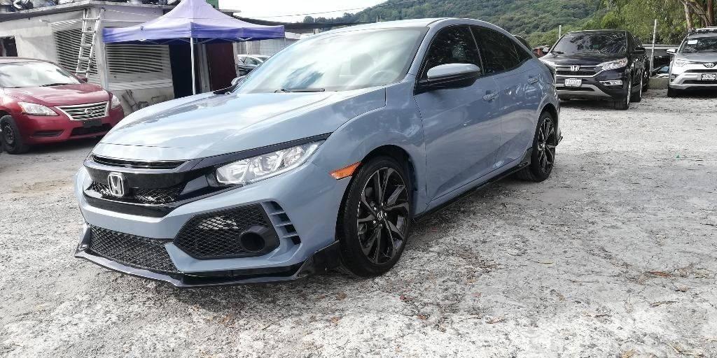 Honda Civic Sport Turbo Modelo 2019 - venta de carros en guatemala