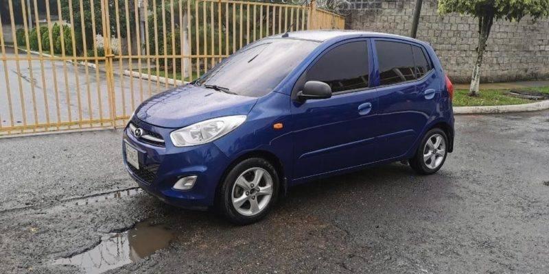 Hyundai I10 2013 automatico - carros en venta en guatemala