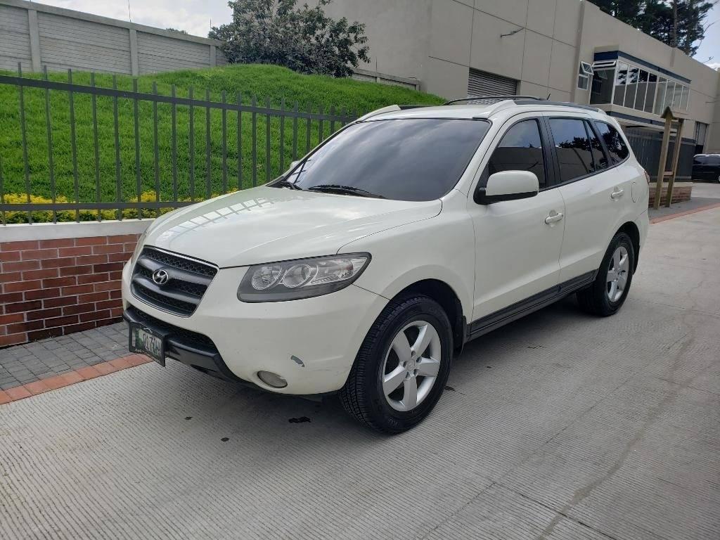 Hyundai Santa Fe de Agencia 2008 - carros en venta en guatemala
