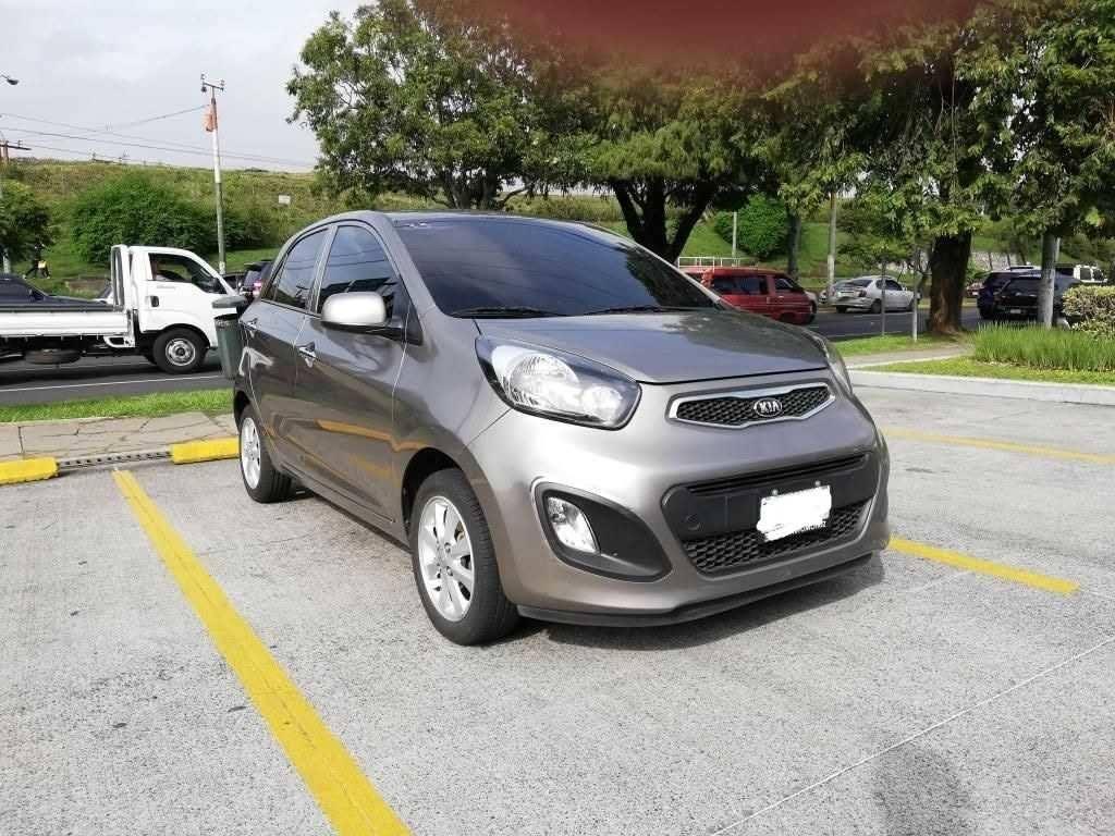KIA PICANTO EX 1.2 AUTOMATICO 2014 DE AGENCIA - CARROS EN VENTA EN GUATEMALA