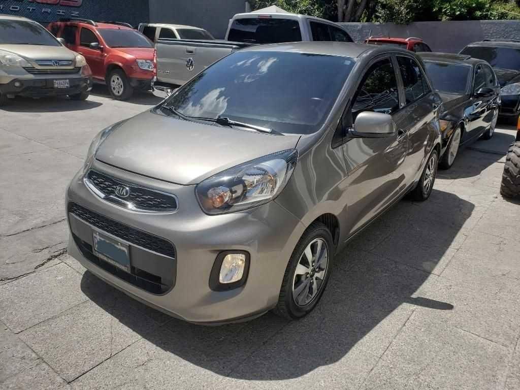 Carro Kia Picanto 2016 Automático - carros en ganga en guatemal