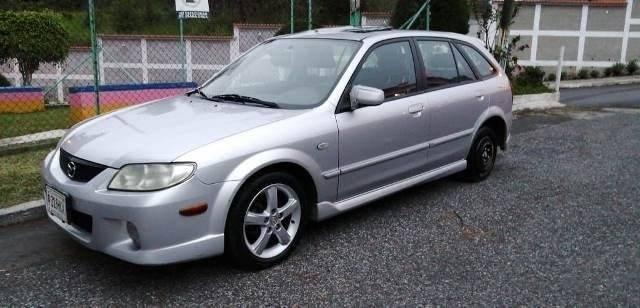 MAZDA PROTEGE PR5 MODELO 2003 - carros en venta en guatemala
