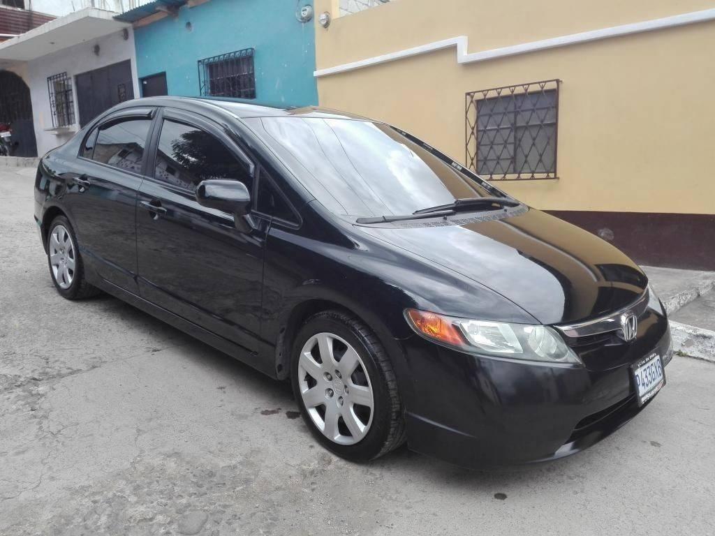 Vendo Honda EX Civic 2007 - venta de carros en guatemala