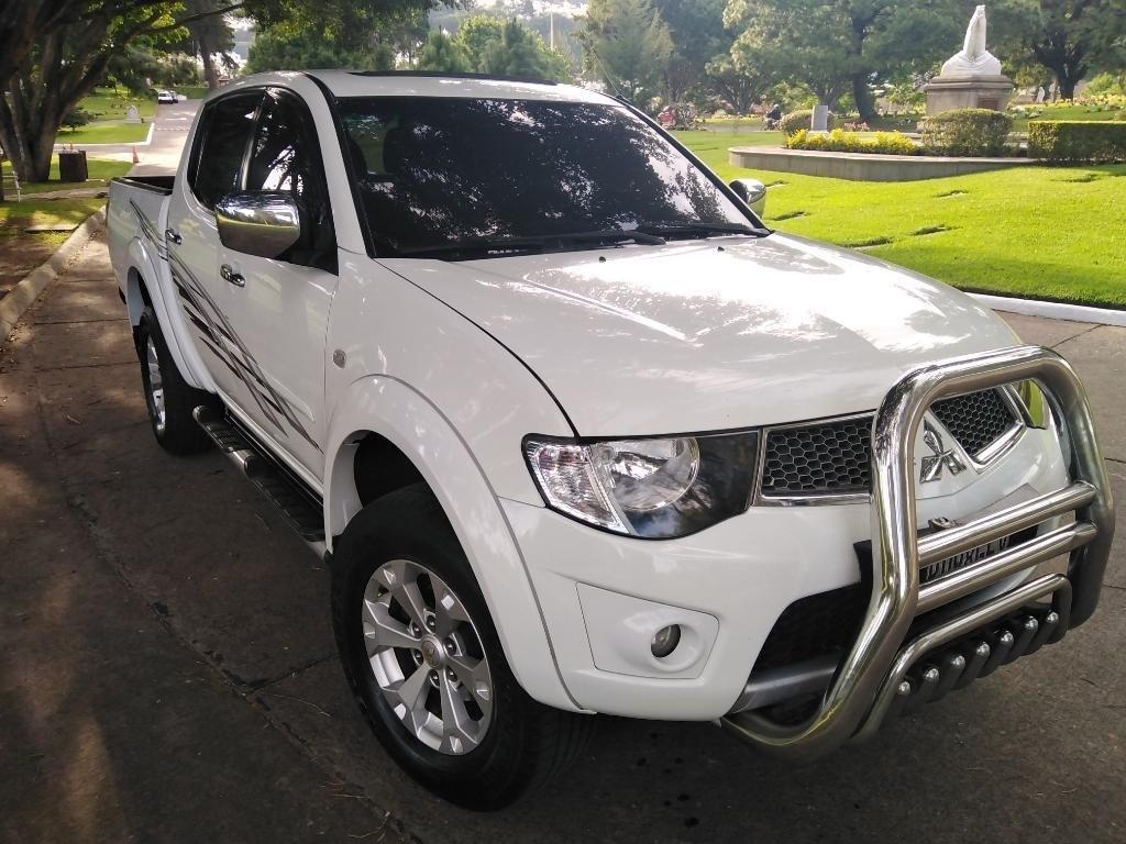 Pick Up Mitsubishi L200 2016 De Venta En Guatemala
