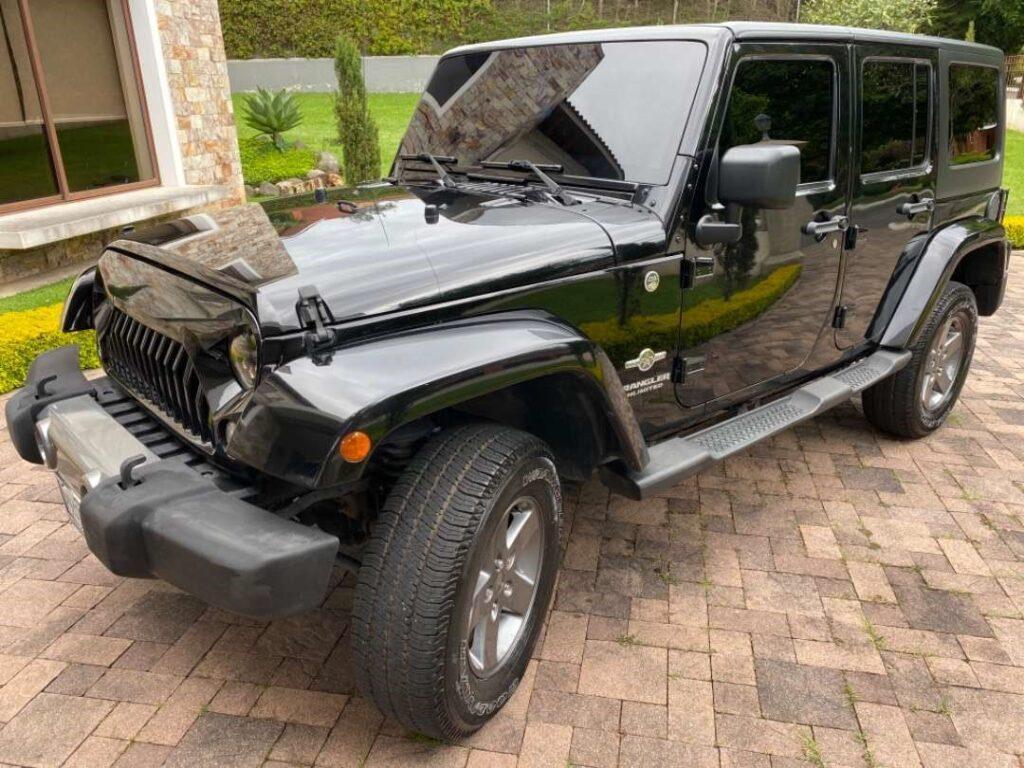 Jeep Wrangler 2015 Automática 4x4 Gasolina