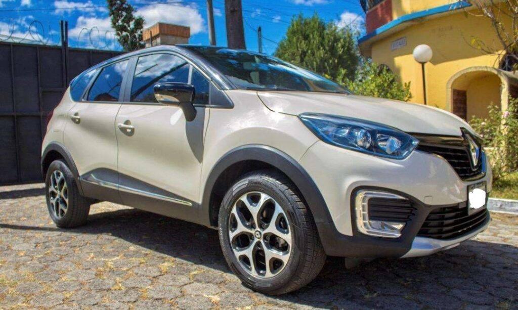 Camioneta Renault Captur Intens 2018 automática