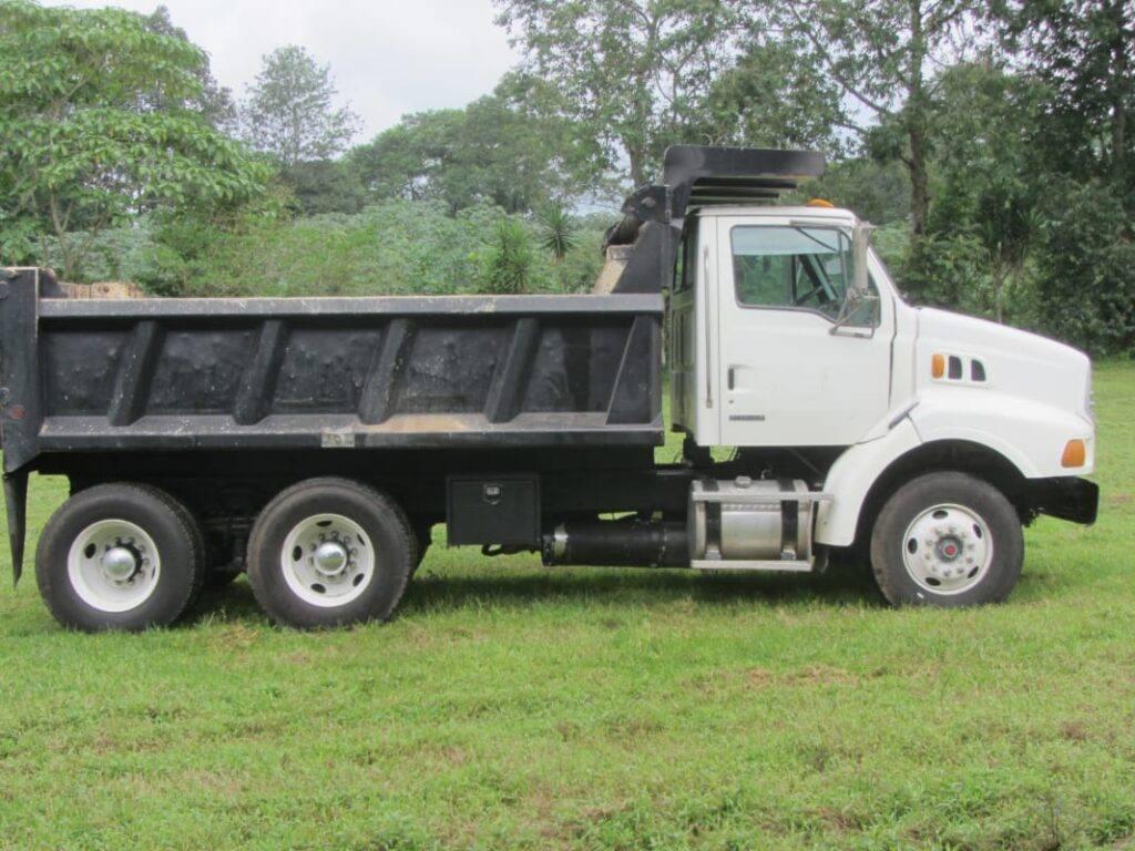 camion sterling de volteo